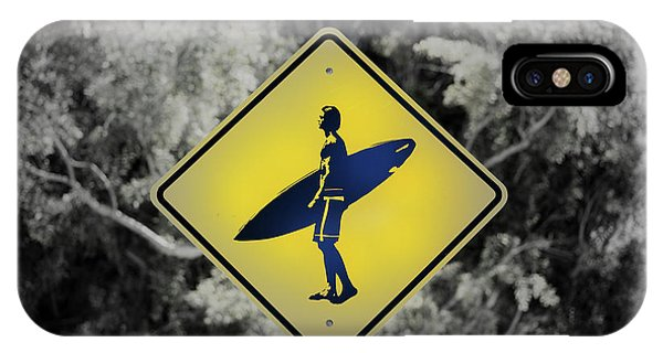 Surfer Xing IPhone Case