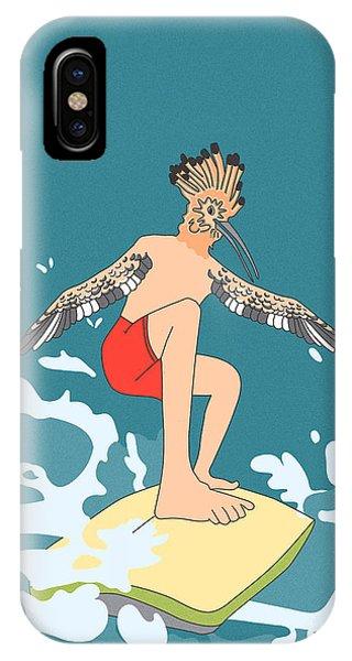 Surferbird IPhone Case