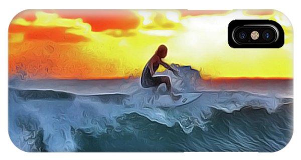 iPhone Case - Surferking by Harry Warrick