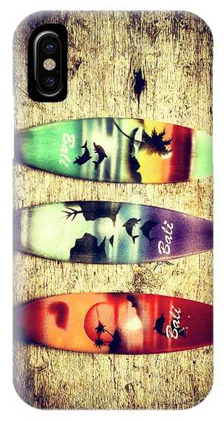 Surfboard iPhone Case - Surfers Parade by Jorgo Photography - Wall Art Gallery