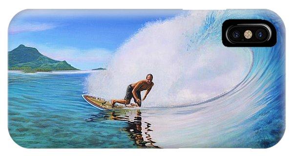 Surfing Dan IPhone Case
