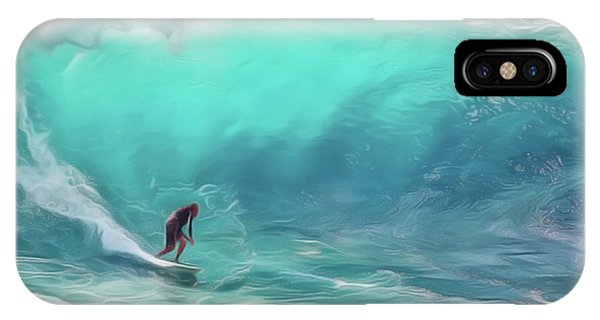 iPhone Case - Surfing by Harry Warrick