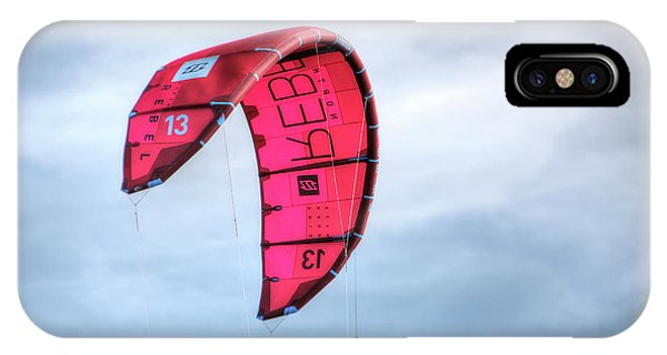 Surfing Kite IPhone Case
