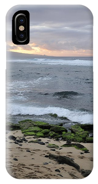 Surfing Sunset Phone Case by Andy Smy