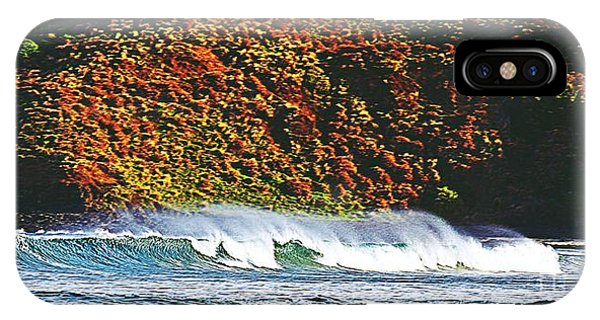iPhone Case - Surfing The Island by Blair Stuart