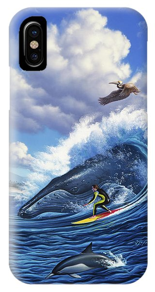 Pelican iPhone Case - Surf's Up by Jerry LoFaro