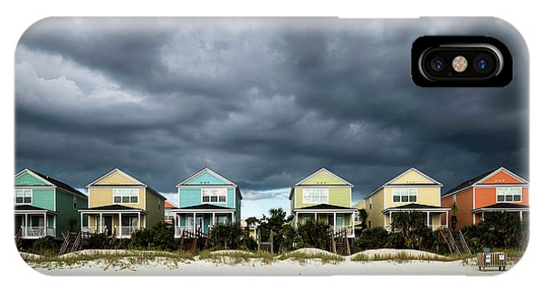 Carolina iPhone Case - Surfside Beach Houses by Ivo Kerssemakers