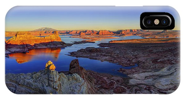 View Point iPhone Case - Surreal Alstrom by Chad Dutson