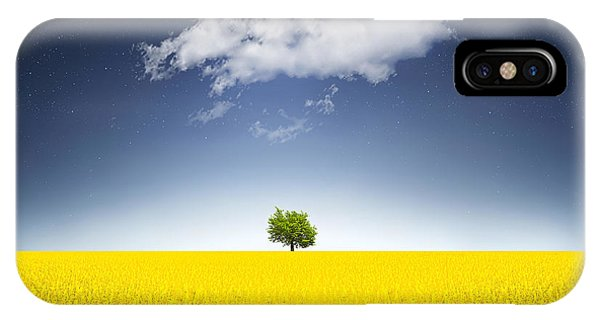 Surreal Canola Field IPhone Case