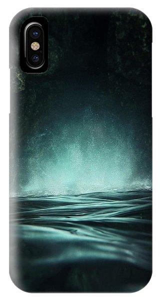 Surreal iPhone Case - Surreal Sea by Nicklas Gustafsson