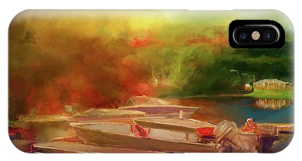Surreal Sunset In Spanish IPhone Case