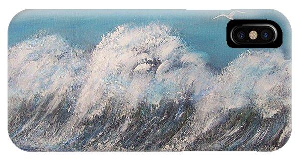 Surreal Tsunami IPhone Case