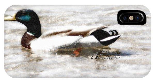 Surrealism Duck IPhone Case