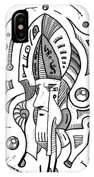 Surrealist Head IPhone Case