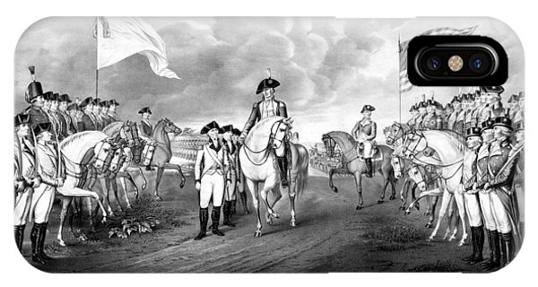 George iPhone Case - Surrender Of Lord Cornwallis At Yorktown by War Is Hell Store
