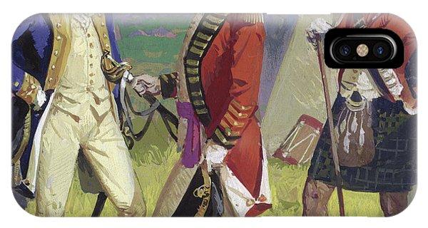 Yorktown iPhone Case - Surrender Of Lord Cornwallis To George Washington by Severino Baraldi