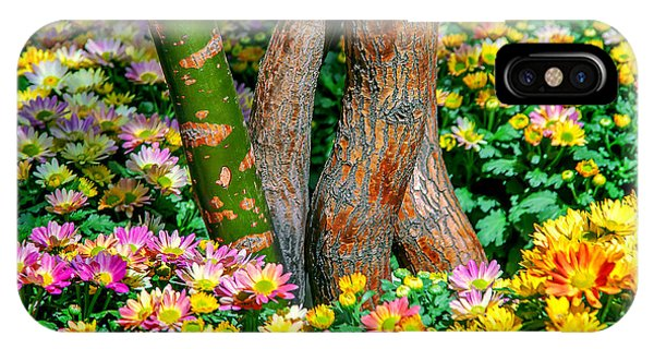 Fall Flowers iPhone Case - Surrounded by Az Jackson