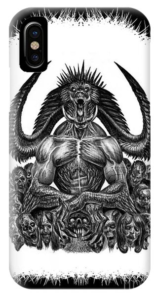 Surrounded By Sin IPhone Case