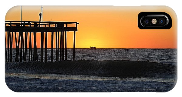IPhone Case featuring the photograph Surrounded By Sunrise by Robert Banach