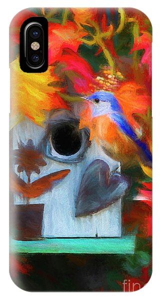 Avian iPhone Case - Surrounded In Fall Color by Darren Fisher