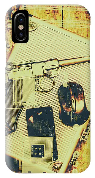 Technology iPhone Case - Surveillance State by Jorgo Photography - Wall Art Gallery