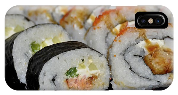Sushi Rolls From Home IPhone Case