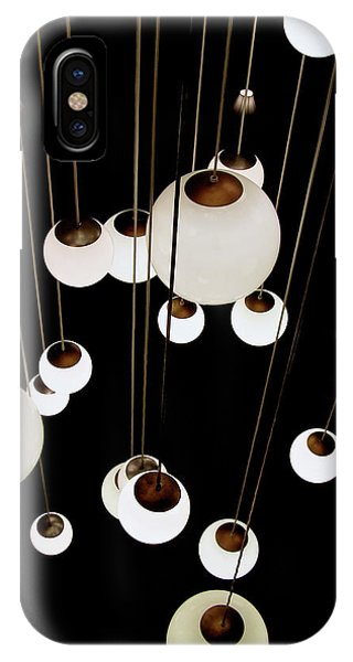 Suspended - Balls Of Light Art Print IPhone Case