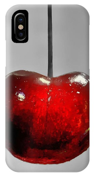 Suspended Cherry IPhone Case