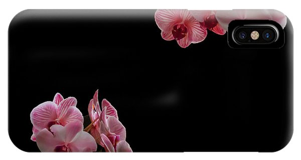 Suspended Orchids IPhone Case