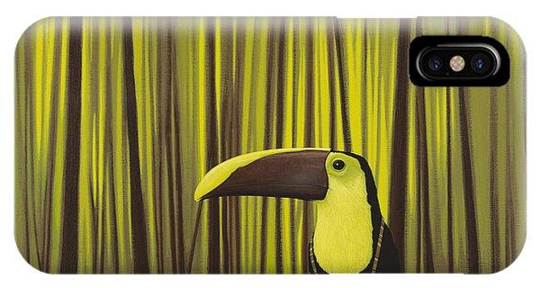 Colorful Bird iPhone Case - Suspenders by Jasper Oostland