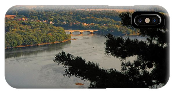 Susquehanna River Below IPhone Case