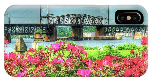 iPhone Case - Susquehanna River Bridge by Debbi Granruth