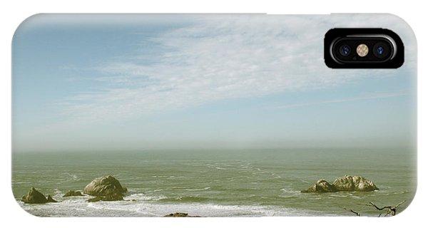 Pacific Ocean iPhone Case - Sutro Baths San Francisco by Linda Woods