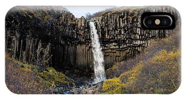 IPhone Case featuring the photograph Svartifoss by James Billings