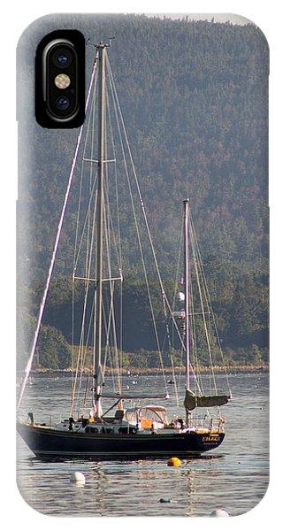 Sw Harbor Fall Haze IPhone Case