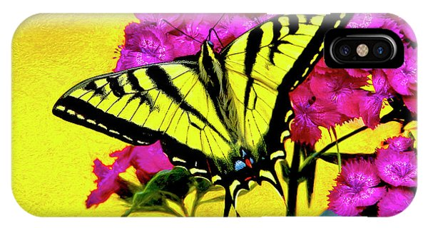 Swallow Tail Feeding IPhone Case