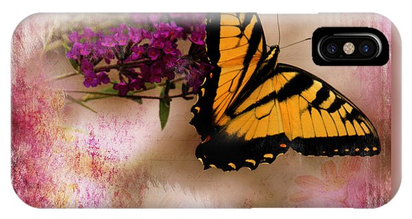 Swallow Tail Full Of Beauty IPhone Case