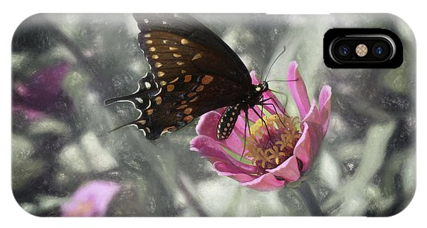 Swallowtail In A Fairytale IPhone Case