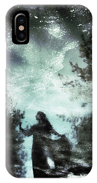 Magic iPhone Case - Swamp Witch by Cambion Art