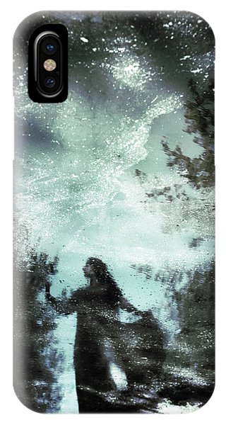 Magician iPhone Case - Swamp Witch by Cambion Art