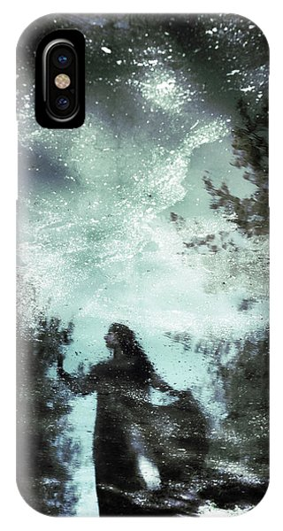 Magician iPhone X / XS Case - Swamp Witch by Cambion Art