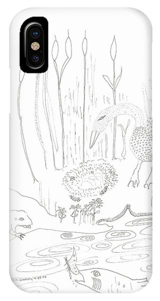 Swan Eggs IPhone Case