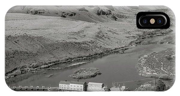 Swan Falls Dam IPhone Case