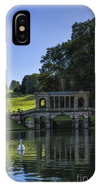 iPhone Case - Swan In Prior Park by Margie Hurwich