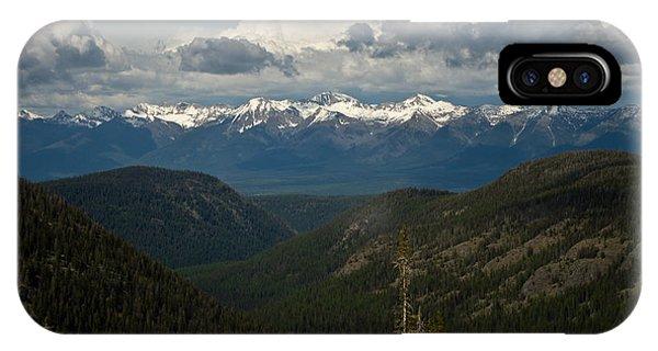 Swan Mountain Range IPhone Case