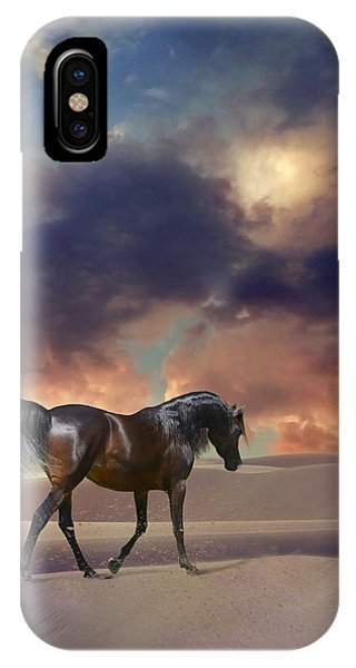 Swan Of Desert IPhone Case