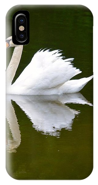 Swan Reflecting IPhone Case