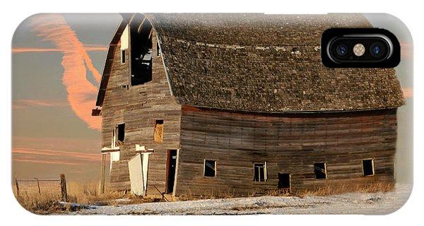 Swayback Barn IPhone Case