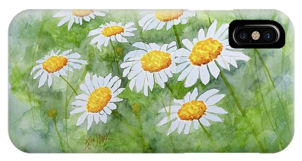 Swaying Daisies  IPhone Case