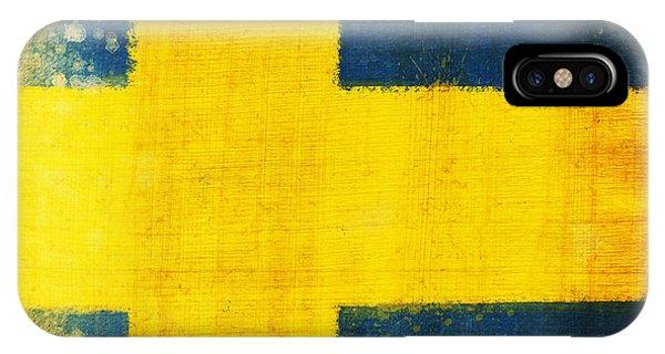 Swedish Flag IPhone Case